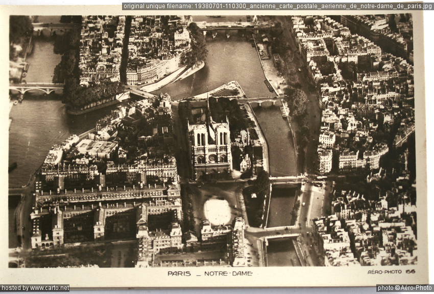 Ancienne Carte Postale A Rienne De Notre Dame De Paris