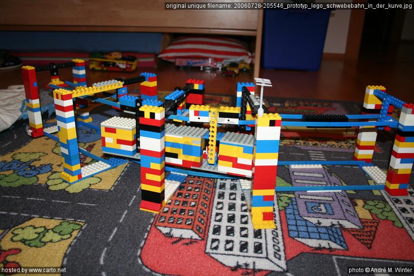 Lego Schwebebahn