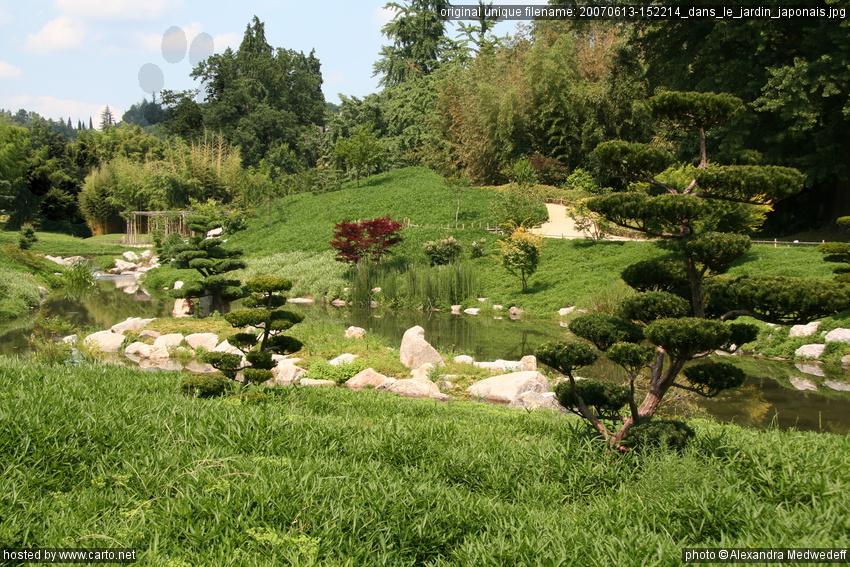 dans le jardin japonais avec le train vapeur des c vennes de st jean la bambouseraie d. Black Bedroom Furniture Sets. Home Design Ideas
