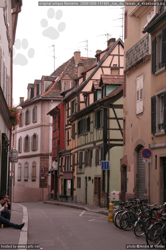 Rue du faisan strasbourg un jour strasbourg octobre for Rue du miroir strasbourg