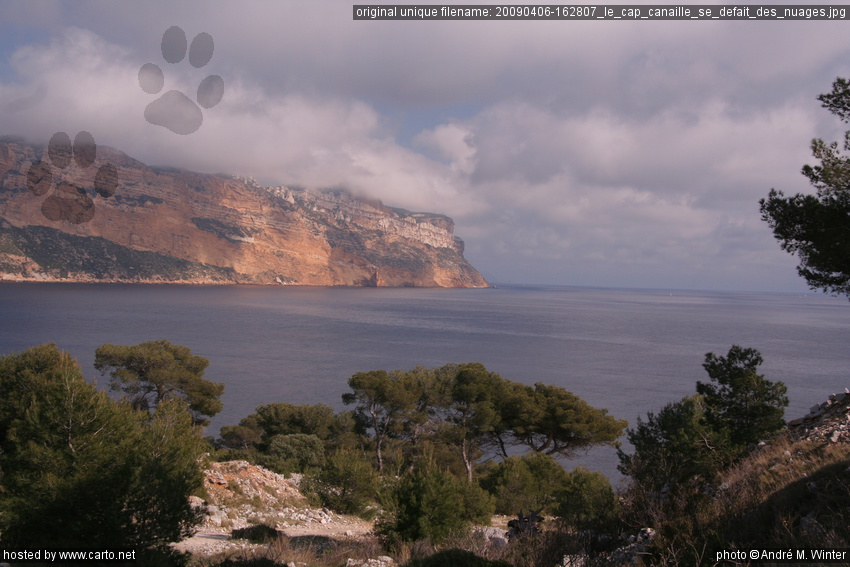 le cap canaille se d fait des nuages cassis et ses calanques avril 2009. Black Bedroom Furniture Sets. Home Design Ideas