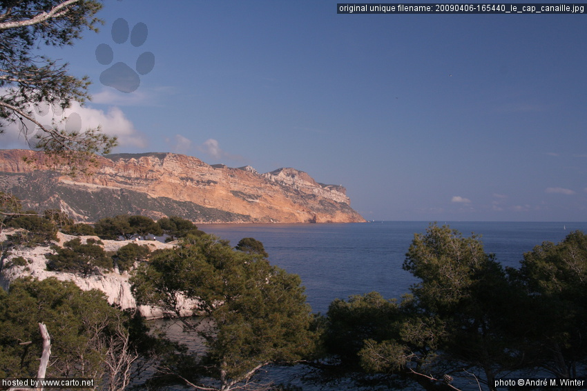 le cap canaille cassis et ses calanques avril 2009. Black Bedroom Furniture Sets. Home Design Ideas