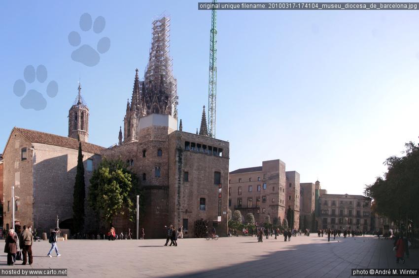 Museu Diocesà de Barcelona (Barri Gòtic de Barcelona - März 2010)