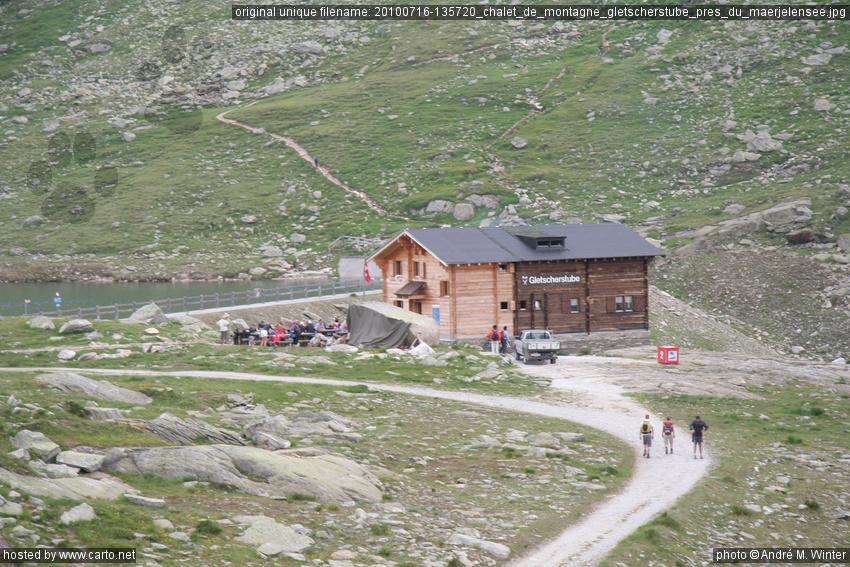 Chalet De Montagne Gletscherstube Pr S Du M Rjelensee