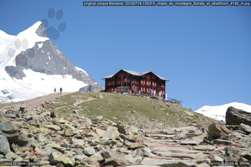chalet de montagne fluhalp et strahlhorn 4190 m zermatt. Black Bedroom Furniture Sets. Home Design Ideas