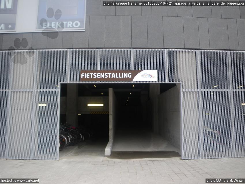 Garage v los la gare de bruges bruges brugge ao t for Garage de la gare pontault