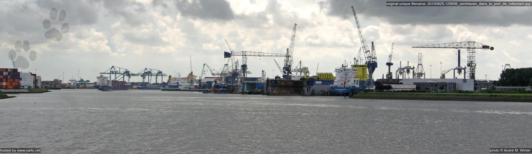 eemhaven dans le port de rotterdam port de rotterdam ao 251 t 2010