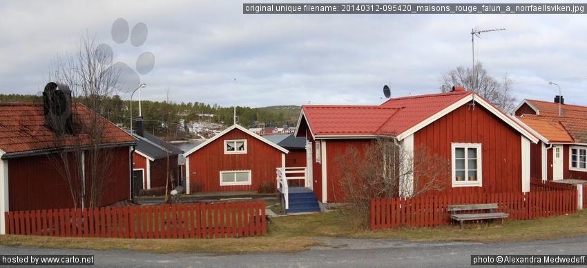 Maisons rouge falun norrf llsviken norrf llsviken - Rouge de falun ...