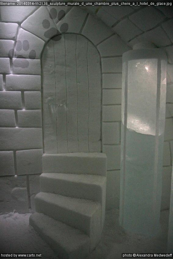 sculpture murale d 39 une chambre plus ch re l 39 h tel de glace hotel de glace jukkasj rvi. Black Bedroom Furniture Sets. Home Design Ideas