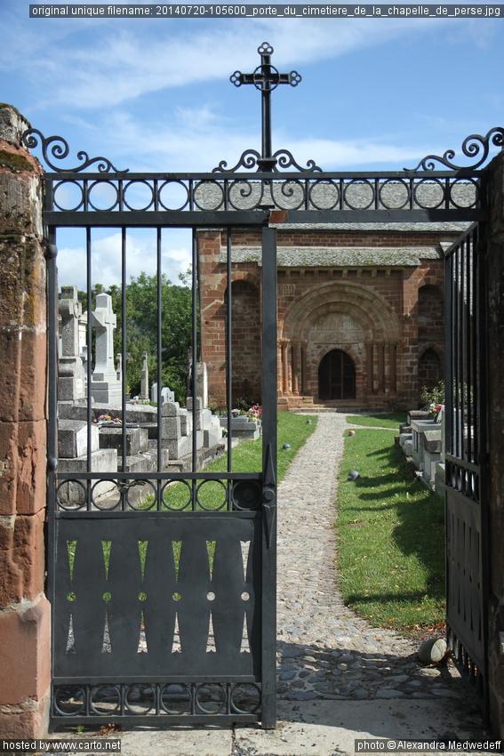 Porte du cimeti re de la chapelle de perse glise de for Porte de la chapelle