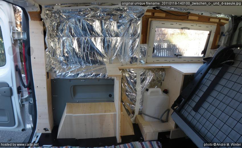 Küchenzeile Trafic ~ zwischen c und d säule (isolierung und innenverkleidung am renault trafic kastenwagen mai 2010)