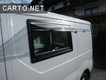 Renault trafic mit 800x450mm ausstellfenster links seitz for Fenetre hublot