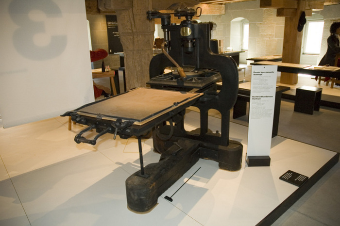 letter press printing machine