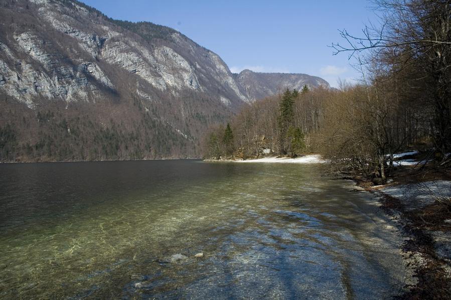Bohinjsko Jezero Slovenia  city photo : Bohinjsko Jezero, Naklova Glava Peninsula